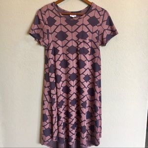 LuLaRoe Purple Carly Dress
